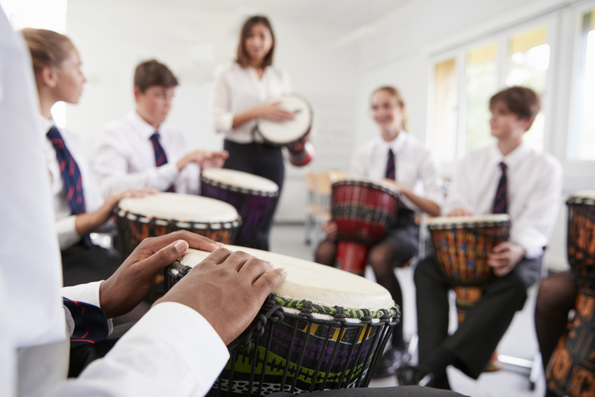 Urheber (Percussiongruppe): © Monkey Business / Fotolia